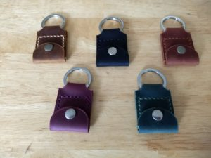 The Way Leather Quarter Keychain Holder 2