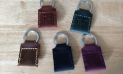 The Way Leather Quarter Keychain Holder 3