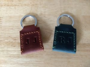 The Way Leather Quarter Keychain Holder 4