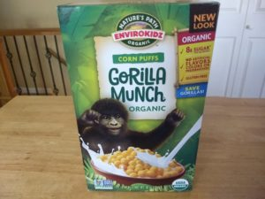 Trader Joe's Gorilla Crunch Organic Corn Puffs