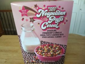 Trader Joe's Neapolitan Puffs Cereal