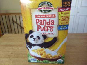 Trader Joe's Panda Puffs Organic Peanut Butter Cereal