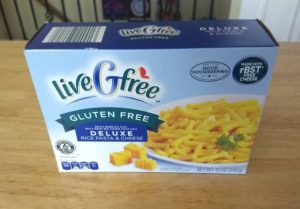 liveGfree Deluxe Rice Pasta and Cheese
