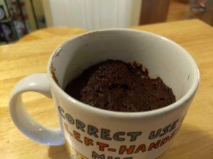 Baker's Corner Single Serve Mug Delights Brownie