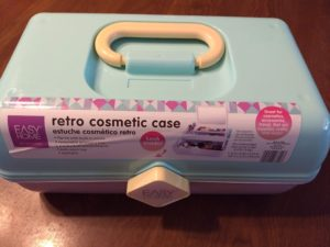Easy Home Retro Cosmetic Case