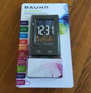 Bauhn Alarm Clock With USB Charging