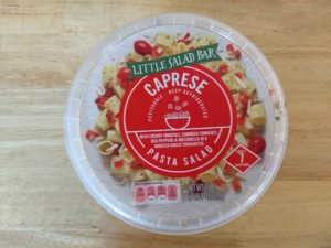 LIttle Salad Bar Caprese Pasta Salad