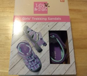 Lily and Dan Girls Trekking Sandals 1