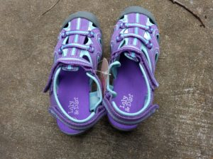 Lily and Dan Girls Trekking Sandals 3