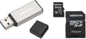Medion 64GB Micro SD Card or Flash Drive