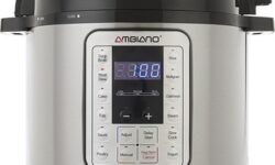 Ambiano 9-in-1 Multi-Use Programmable Pressure Cooker