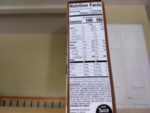 Baker's Corner Chocolate Chip Cookie Brownie Bar Mix nutrition info and ingredients