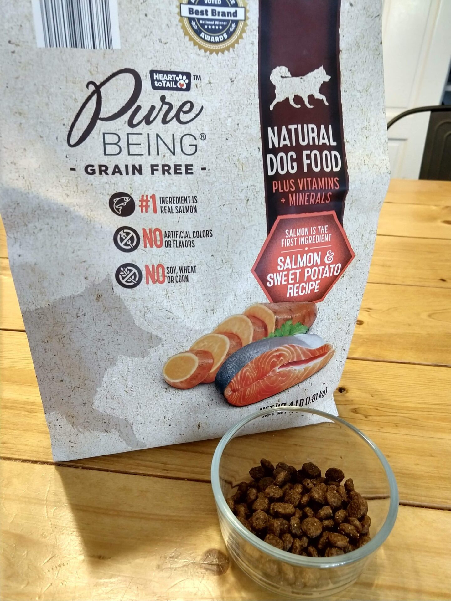 Heart To Tail Pure Being Grain Free Natural Dog Food Aldi Reviewer