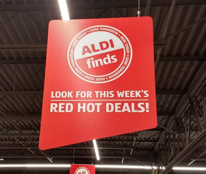 Aldi stock photo