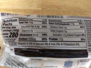 chicken cordon bleu nutrition