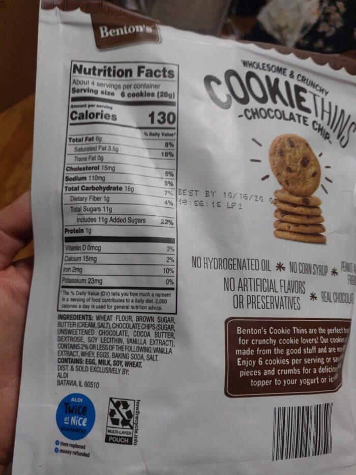 Benton's Cookie Thins 2