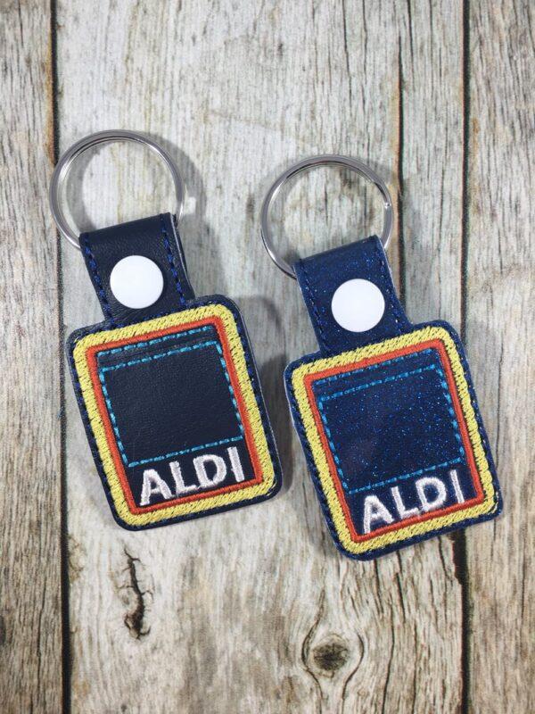 Bug and Beluga Aldi Keychain Quarter Keeper