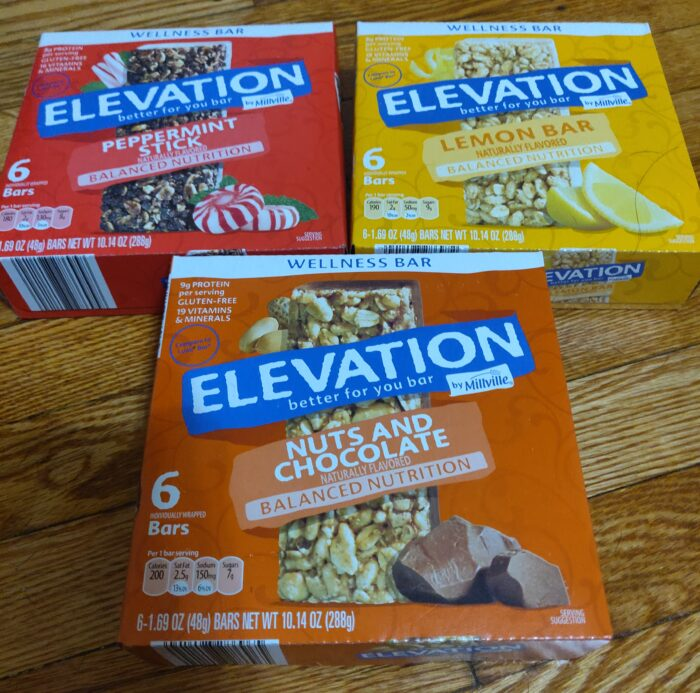 Elevation Protein Bars 1