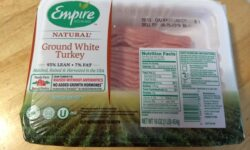 Empire Kosher Ground White Turkey