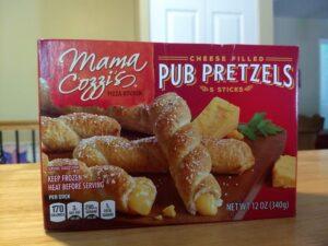 Mama Cozzi's Cheese Filled Pub Pretzels