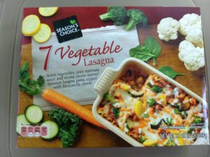 Season's Choice 7 Vegetable Lasagna