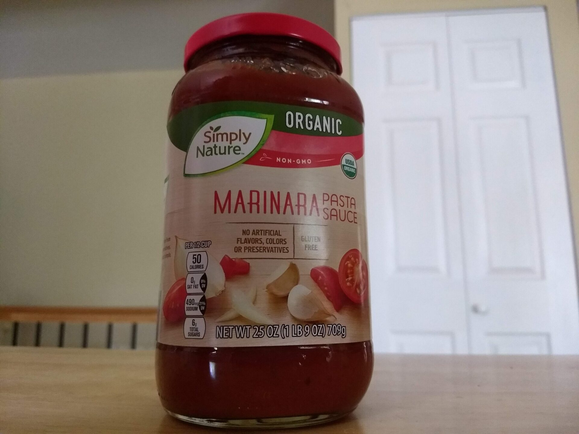 Simply Nature Organic Marinara Pasta Sauce Aldi Reviewer