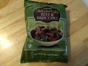 Trader Joe's Beef & Broccoli
