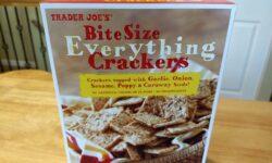 Trader Joe's Bite Size Everything Crackers