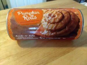 Trader Joe's Pumpkin Rolls