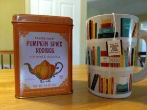 Trader Joe's Pumpkin Spice Rooibos Herbal Blend Tea