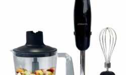 Ambiano Hand Blender with Chopping Bowl