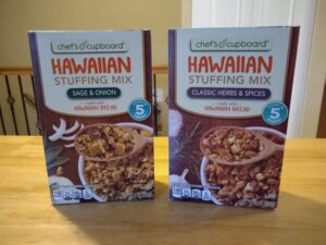 Chef's Cupboard Hawaiian Stuffing Mix