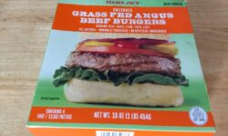 Trader Joe's Grass-Fed Burgers