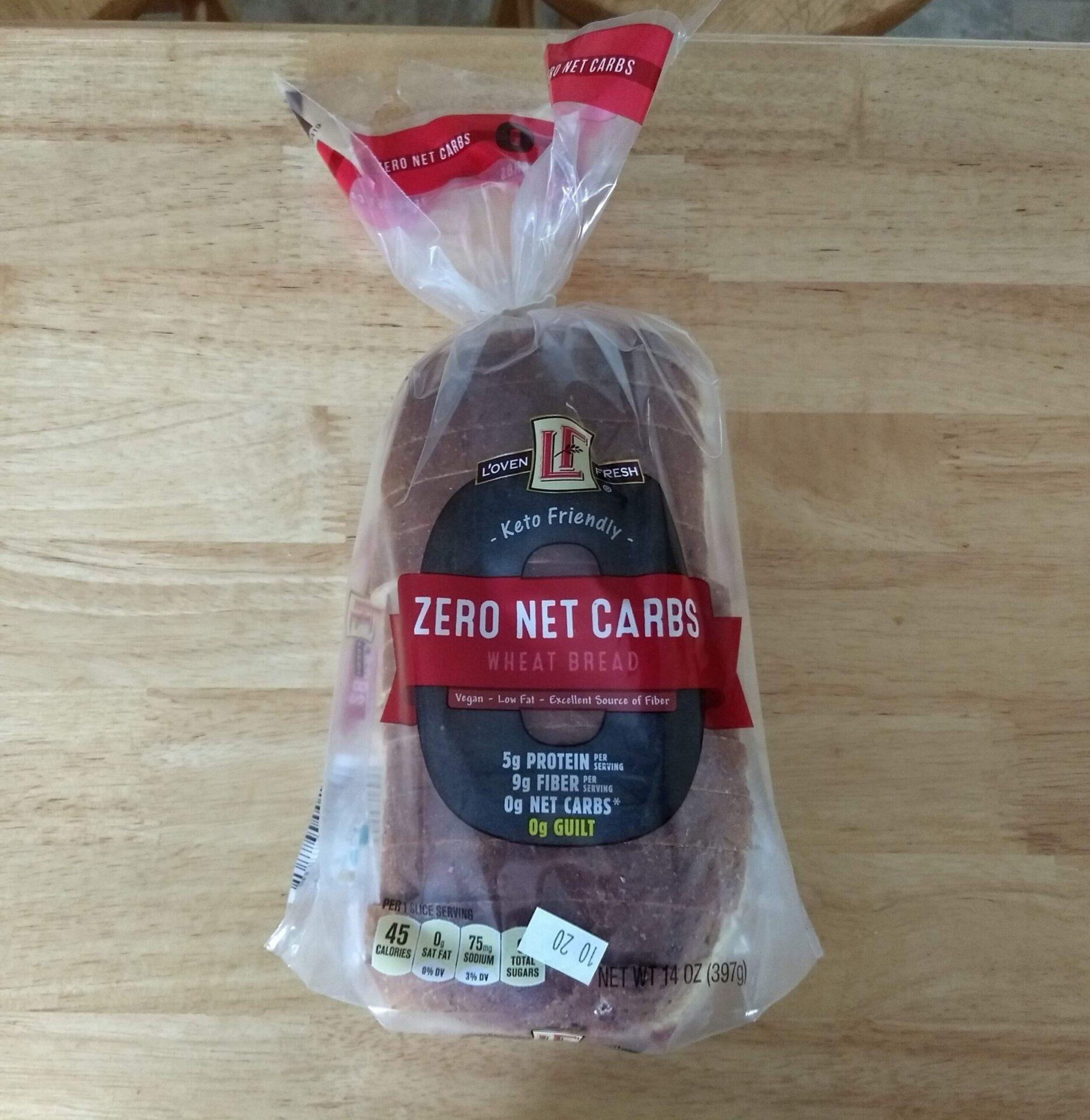 L Oven Fresh Keto Friendly Zero Net Carbs Bread Aldi Reviewer