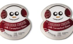 Aldi snowman cheese