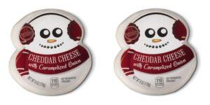 Aldi snowman cheese
