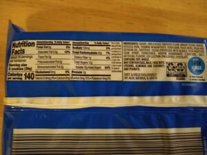 Benton's Double Filled Chocolate Sandwich Cookies ingredients and nutrition