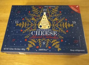 Emporium Selection Imported Cheese Advent Calendar