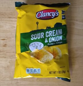 Clancy's Sour Cream and Onion Potato Chips