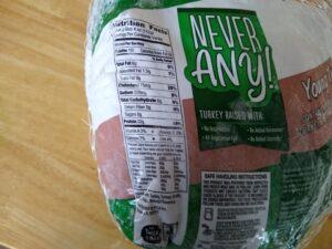 Never Any! Turkey