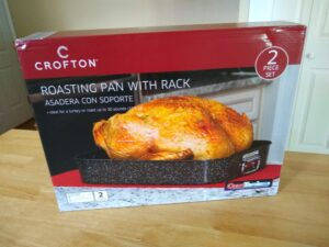 Crofton Roasting Pan With Rack Aldi Reviewer