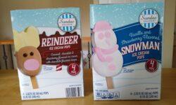 Sundae Shoppe Reindeer and Snowman Ice Cream Pops