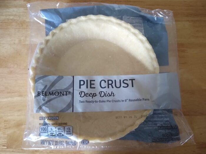 Belmont Deep Dish Pie Crust