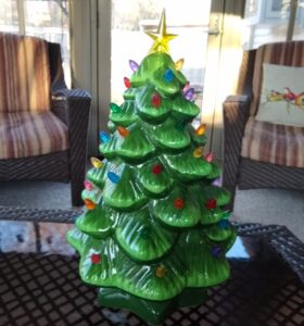 Merry Moments Nostalgic Christmas Tree