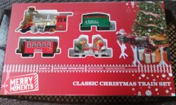 Merry Moments Classic Christmas Train Set