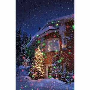 Merry Moments LED Motion Laser Light Projector