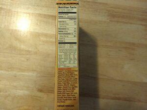 Trader Joe's Quinoa Cowboy Veggie Burgers nutrition and ingredients