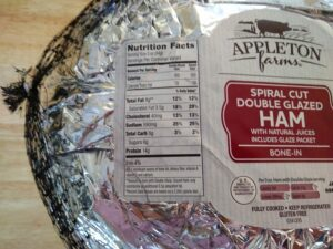 Appleton Farms Spiral Cut Double Glazed Ham