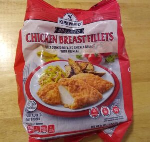 Kirkwood Breaded Chicken Breast Filets (red bag)