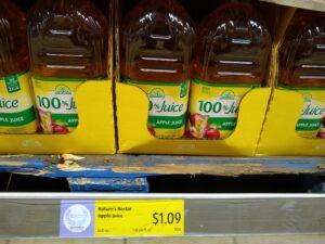 Nature's Nectar Apple Juice